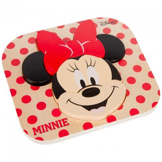 Puzle Minnie mouse 6 piezas WOOMAX Disney