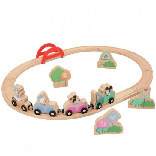 Tren madera Mickey y Minnie WOOMAX Disney