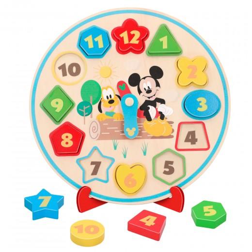 Reloj de madera para niños WOOMAX Disney