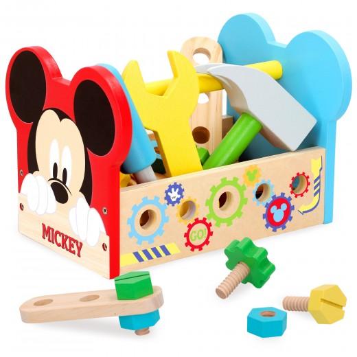 Set herramientas madera Mickey 21 piezas WOOMAX Disney