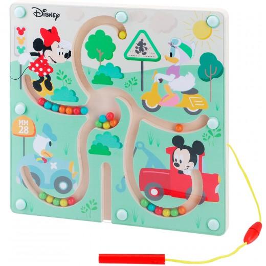 Laberinto magnético de madera Mickey y Minnie WOOMAX Disney
