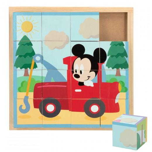 Puzzle de madera 16 piezas Disney WOOMAX