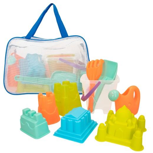 Bolsa de playa con cubo y accesorios Color Beach
