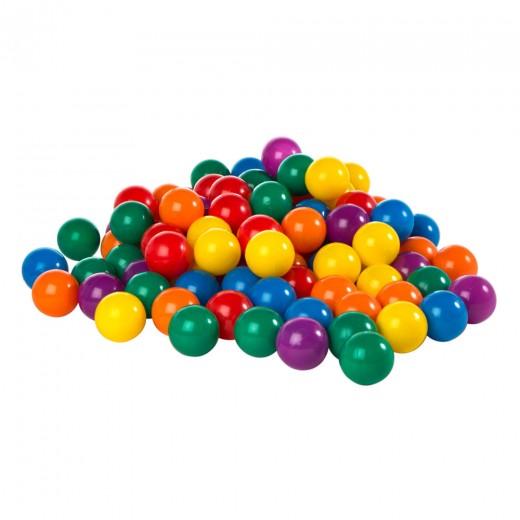 Pack 100 bolas multicolor 6,5 cm diámetro INTEX