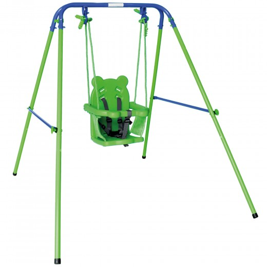 Columpio bebé con asiento de protección Aktive Sports 119x110x140 cm