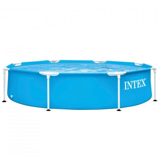 Piscina tubular redonda Metal Frame INTEX