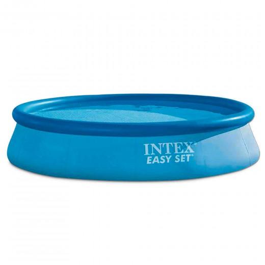 Piscina hinchable intex easy set 396x84 cm - 7.290 litros
