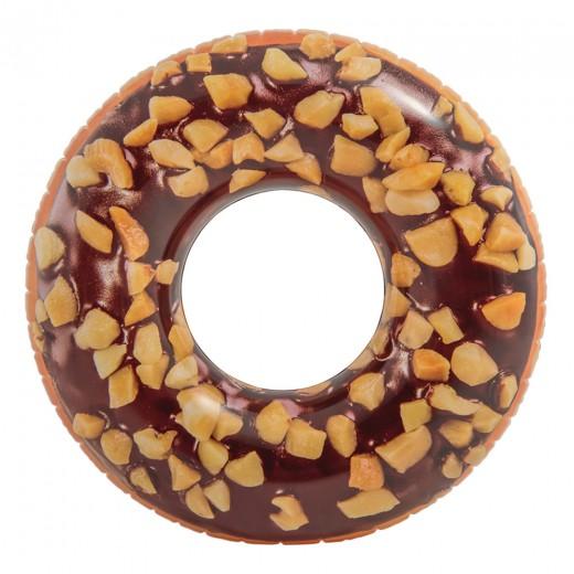Rueda hinchable Intex Donut chocolate 114 cm diámetro