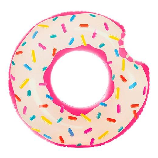 Rueda hinchable Intex Donut de fresa 107x99 cm