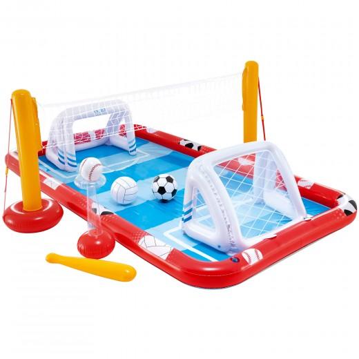 Centro acuático de juego hinchable multideporte INTEX cm