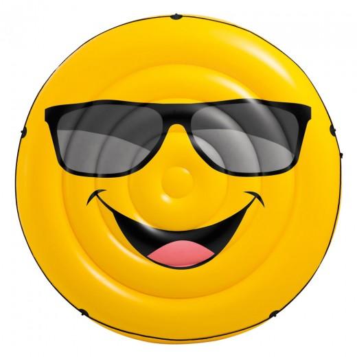 Colchoneta hinchable INTEX emoji 173x27 cm
