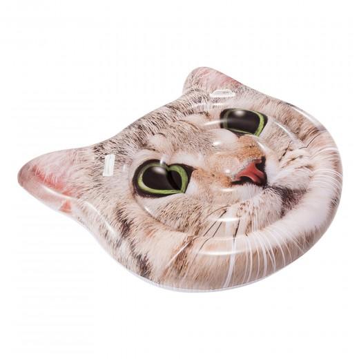 Colchoneta INTEX Gato hiperrealista con asas