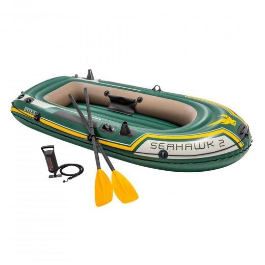 Barca hinchable Intex seahawk 2 & remos - 236 x 114 x 41 cm