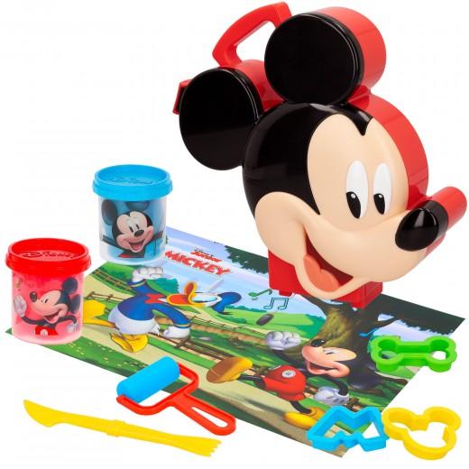 Set maletín plastilina Mickey con 2 botes de 114 g y accesorios