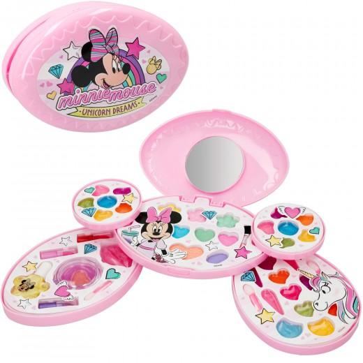 Set maquillaje 5 niveles con espejo Minnie Mouse Disney