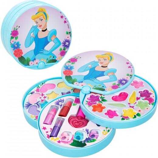 Maquillaje niñas estuche maquillaje 3 niveles Cenicienta Princesas Disney