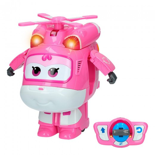 Dizzy Super Wings teledirigido transformable