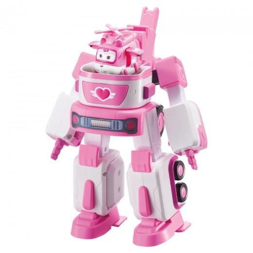 Dizzy Super Wings Vehículo transform-a-bots
