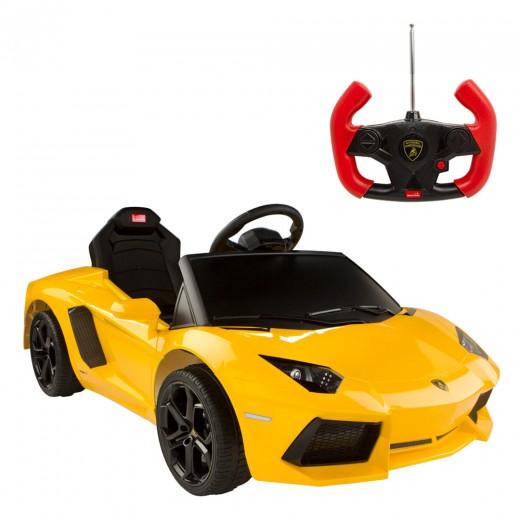Coche de batería para niños Lamborghini Aventador 6V-2.4GH Rastar