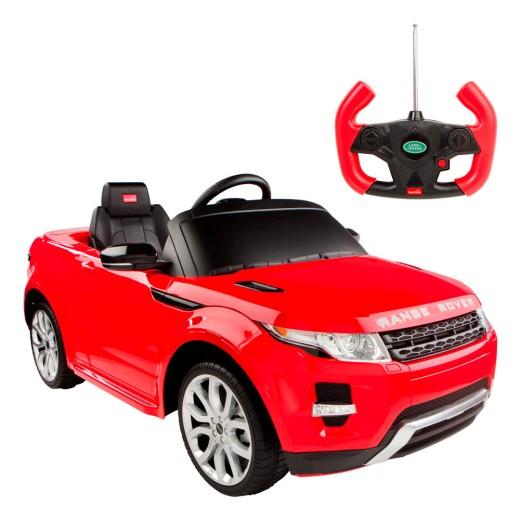 Coche de batería para niños Land Rover Evoque Rastar 6V