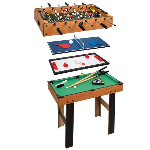 Mesa multijuegos 4 en 1 con patas CBgames