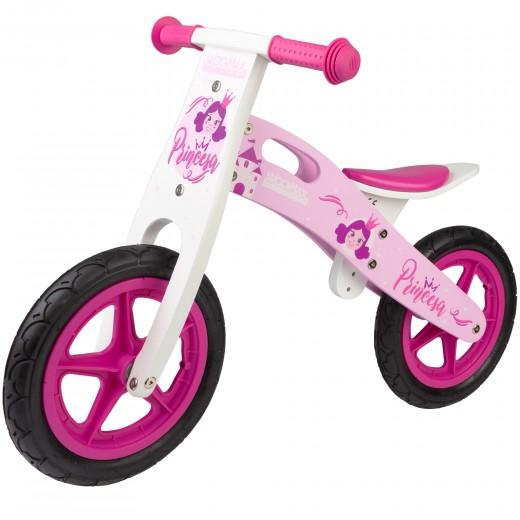 Bicicleta sin pedales Princesas WOOMAX