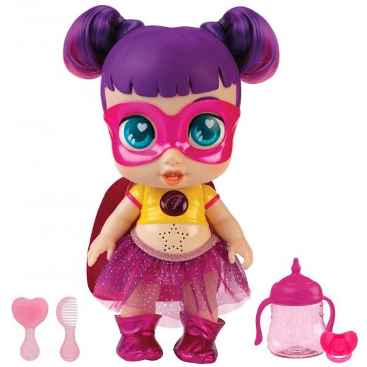 Super Cute Muñeca superheroína Sisi con accesorios