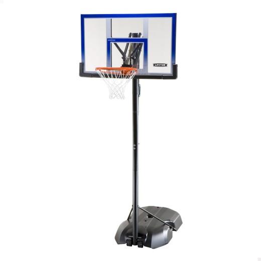Canasta baloncesto ultrarresistente lifetime altura regulable 240/305 cm uv100