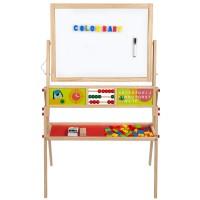 Quadro de madeira 2 em 1 Play & Learn