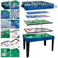 Mesa de bilhar multijogos 12 em 1 CB Games Jogos de mesa para toda família