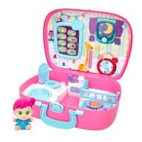 Casa maletín interactivo Bebés Sorpresa con complementos bebé Baby Buppies