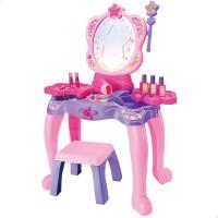 Centro de beleza peteadeira infantil com acessórios Beauty Fashion Princess