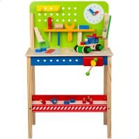 Banco herramientas juguete de madera WOOMAX