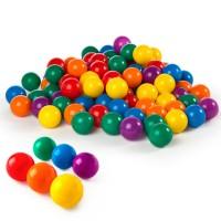 Pack 100 bolas multicolor 8 cm diámetro INTEX