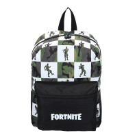 Mochila Fortnite porta tablet Black & White