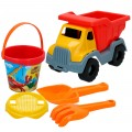 Set playa Mr Craby Constructor camión y cubo con accesorios
