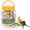 Dinosaurios juguetes 8 modelos surtidos en bote con asa CB Toys