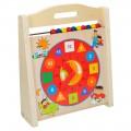 Reloj de madera 3 en 1 Play & Learn