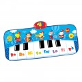 Alfombra piano azul con luz, sonido y grabadora Winfun