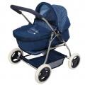 Cochecito de muñecas plegable 3 en 1 Baby Style azul CBtoys