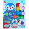 Juguete de baño Pingüino con 10 bolas PlayGo