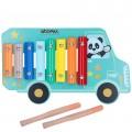 Xilófono de madera Autobús WOOMAX Studio Circus