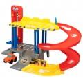 Garaje infantil 2 niveles con vehículo Motor Town