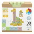 Bloques construcción 30 piezas Color Block Bio