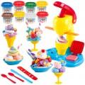Plastilina heladería con moldes y accesorios PlayGo