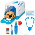 Set veterinario con perrito de peluche con accesorios CB Toys