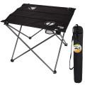 Mesa plegable para camping tejido y acero - Distria
