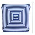 Sombrilla Cuadrada de Rayas con Protección UV - Distria.com