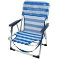 Silla plegable playa aluminio- silla plegable | Distria