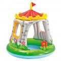 Piscina infantil hinchable Intex en forma de castillo y con parasol | Piscinas baratas para niños en Distria